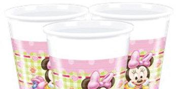 Baby Minnie Plastic Cups - 200ml (8pk)