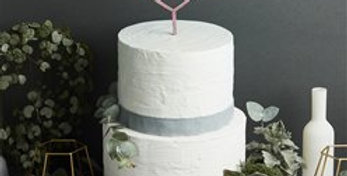 Rose Gold Love Cake Topper - 23cm (each)