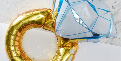 I Do Crew - Foil Ring Balloon (each)