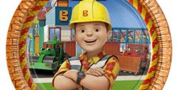 Bob the Builder Plates - 23cm (8pk)