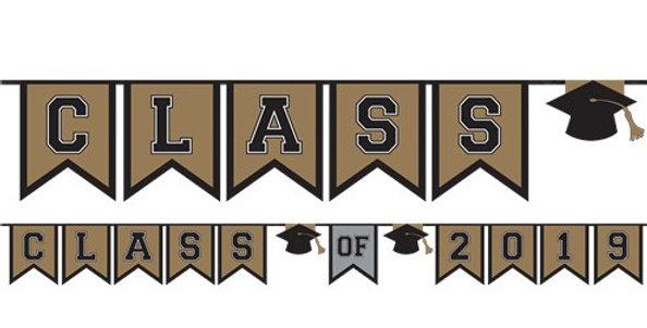 Graduation Class of 2019 Bunting - 3.65m (each)