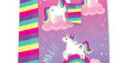This Unicorn Jumbo Gift Bag has an opened size of 45.5cm x 33cm x 10cm and featu