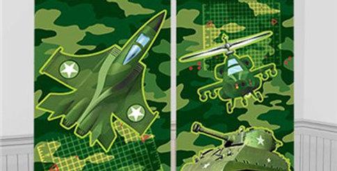 Camouflage Scene Setter - 1.5m (5pk)