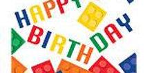 Block Party Happy Birthday Luncheon Napkins - 3ply (16pk)