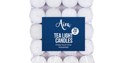 Tealight Candles - 20 Pack