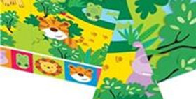 Animal Friends Plastic Tablecover (each)