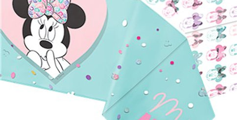 Disney Minnie Party Gem Tablecover - 1.2m x 1.8m (each)