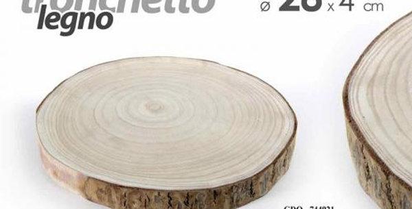 Decorative Wooden slice 28cm