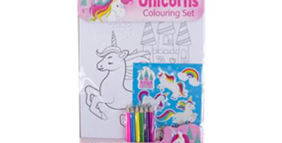 Unicorn Colouring Set