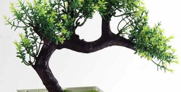 bonsai artificial tree in planter h22cm