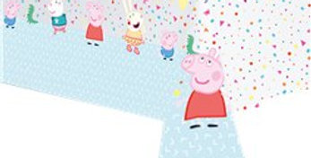 Peppa Pig Paper Tablecover - 12.m x 1.8m (each)