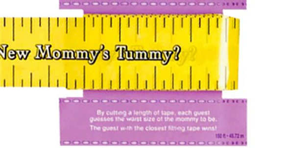 Baby Shower Measuring Tape Game (each) 45.72 m