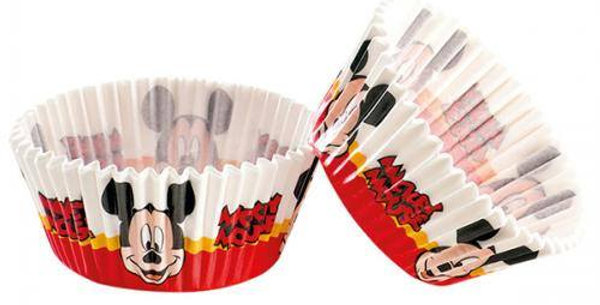 50pk Mickey cupcake cases
