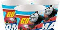 Thomas the Tank Engine Cups - 266ml Paper Party Cups (8pk)