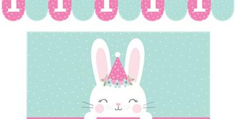 Birthday Bunny High Chair Kit (each)