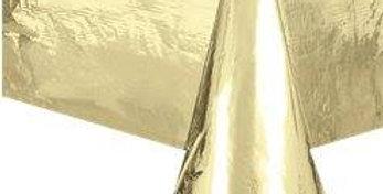Metallic Gold Foil Tablecover - 1.4m x 2.7m