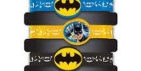 Batman rubber bracelets 4pk