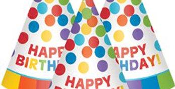 12pk party paper hats