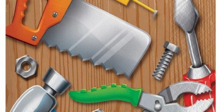 Bob the Builder - Construction - Handyman small napkins 24.7cm 16pcs
