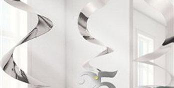 25th Anniversary Hanging Swirls - 61cm