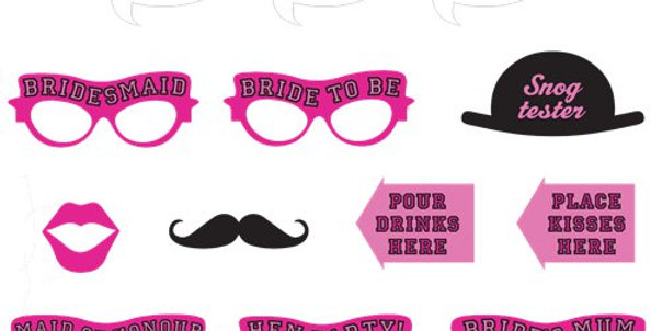 Hen Party Photo Booth Kit (13pk)