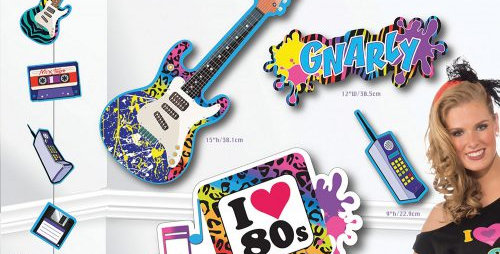 80's Party Decorating Kit