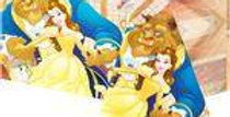 Beauty & The Beast Plastic Tablecover - 1.2m x 1.8m (each)