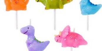 Dinosaur Candles (5pk)