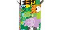 Jungle Friends Crayonsboxes of crayons in a pack, 4 crayons in each box