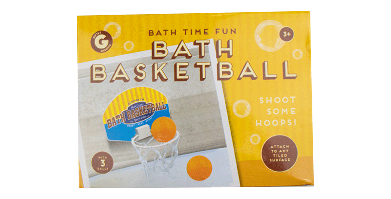 Bath Time Basketball