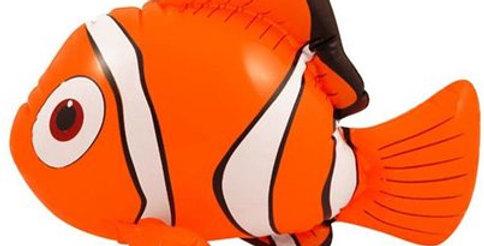 Inflatable Clown Fish - 43cm (each)