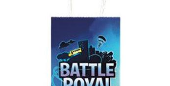 Battle Royal Paper Party Bag - Loot Bag (8pk)