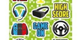 Gamer Sticker Sheet (each