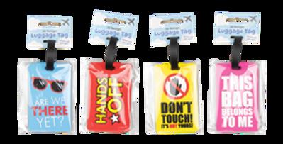 Wholesale Slogan Luggage Tags