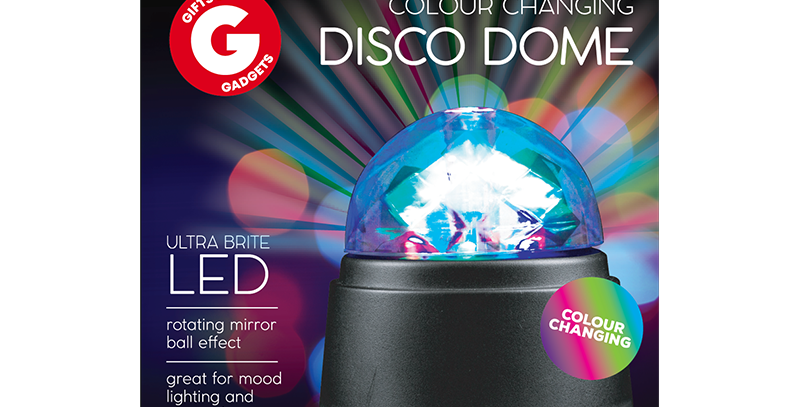 Colour Changing Disco Dome