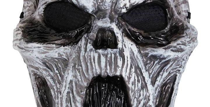 Adult's Ghost Glow In Dark Plastic Mas