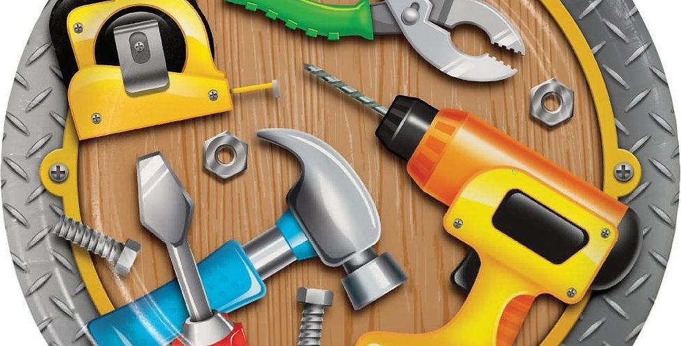 Bob the Builder - Construction - Handyman plates 22.2cm 8pcs