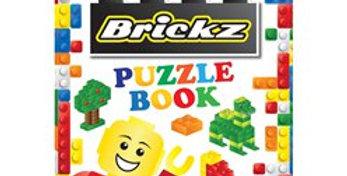 Brickz Mini Puzzle Book (each)  Mini puzzle book. Size: 10cm x 14.3cm 16 pag