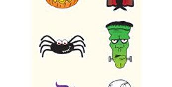Halloween Temporary Tattoos Sheet (each)