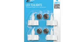 LED Tealights - 4 Pack