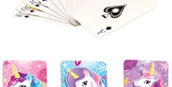 Unicorn Mini Playing Cards (each)