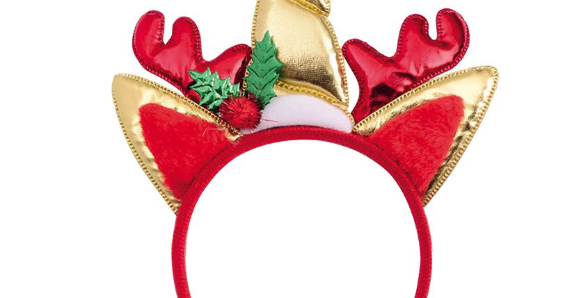 Christmas Unicorn Headband
