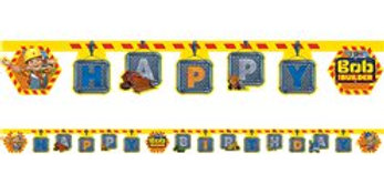 Bob the Builder Birthday Banner (each)