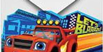 Blaze and the Monster Machines Invitations and Envelopes (8pk)