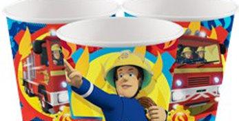Fireman Sam - 266ml Paper Party Cup (8pk)