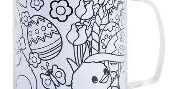 Colour Your Own Easter Cup