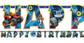 Blaze & the Monster Machines Jumbo Letter Banner