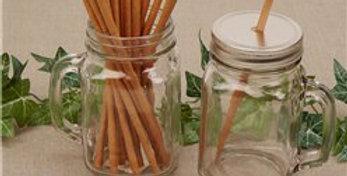 Brown Kraft Paper Straws (25pk)