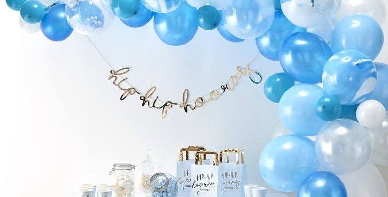 BLUE BALLOON ARCH KIT - BALLOON ARCHES