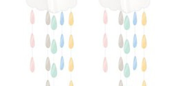 Baby Wishes Hanging Clouds & Droplets Baby Wishes Hanging Clouds & Droplets (2pk